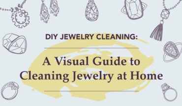 How to Clean Your Jewelry at Home: 10 Amazing DIY Methods - Infographic
