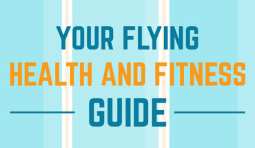 How to Stay 'Flying Fit' and Comfortable on Long-Haul Flights - Infographic