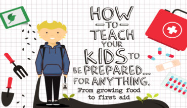 How to Teach Important Survival Skills to Kids - Infographic
