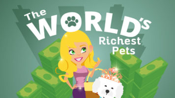 Pet Tycoons: Tales of the World's Richest Pets - Infographic
