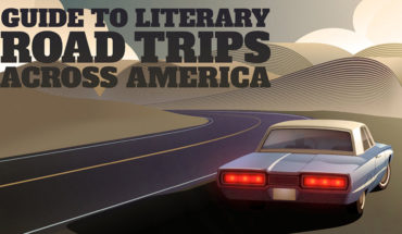 Road Trips Across America: Famous Literary Journeys - Infographic