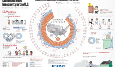 The Absurd but Factual Tale of US Food Insecurity - Infographic