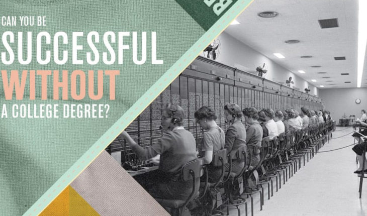 Changing the Perspective: Is a College Degree Necessary for Success? - Infographic
