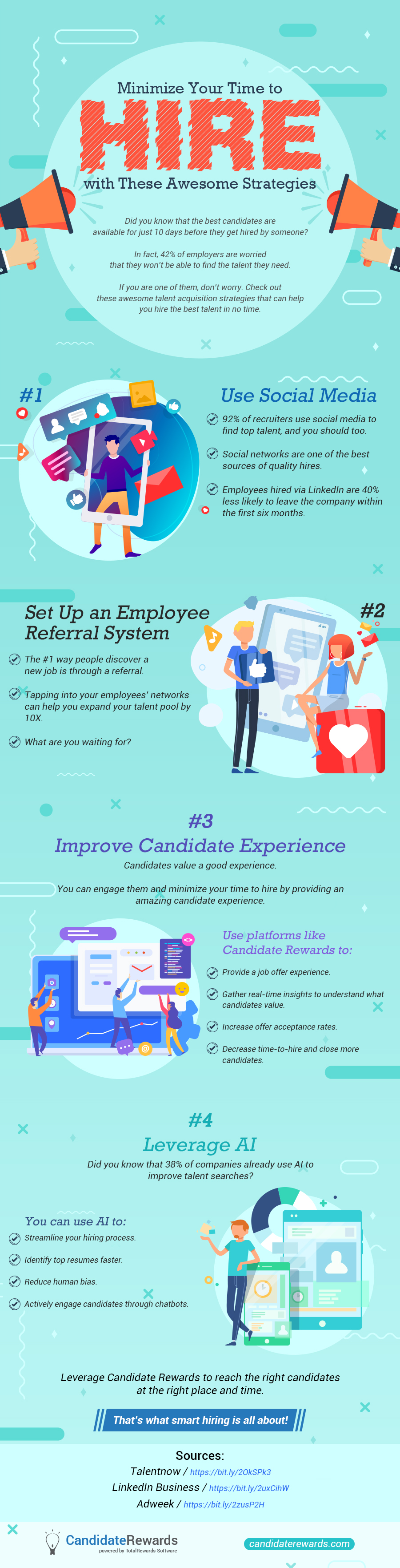 Finding the Right Candidate at the Right Time: Smart Strategies to Reduce Recruitment Timelines - Infographic
