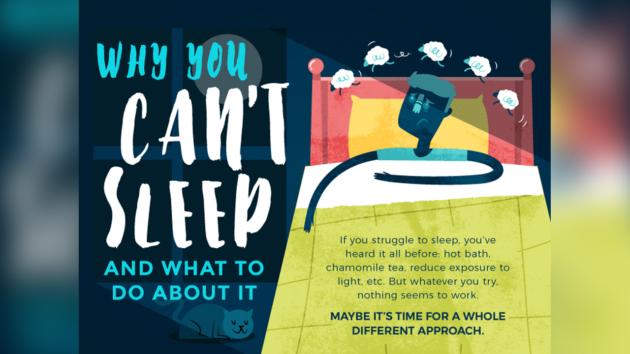 How Act Ing Can Help You Sleep Better Infographic