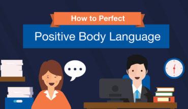 How Positive Body Language Creates Positive Workspaces - Infographic
