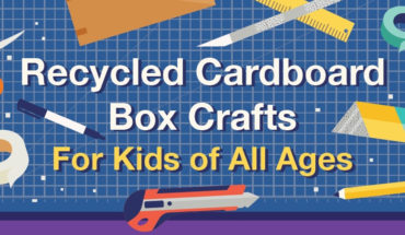 How to Recycle Cardboard Boxes as Kids Games - Infographic