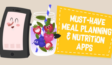 Living Mindfully: Great Meal Planning and Nutrition Apps - Infographic