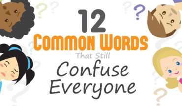 Special Common Words that are Especially Confusing - Infographic