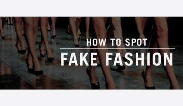 The Devil is in the Detail: How to Identify Fake Fashion - Infographic