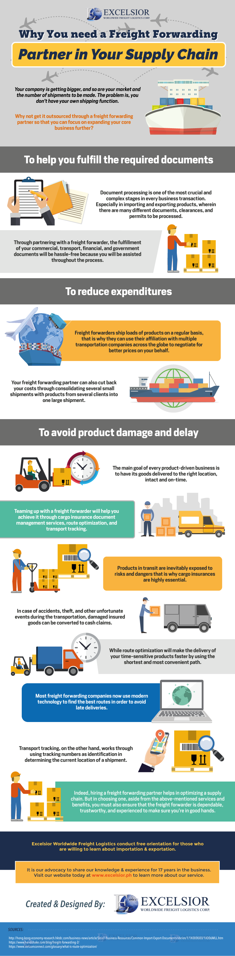 Why Reinvent the Wheel: Advantages of Tieing Up with an Experienced Freight Forwarding Partner - Infographic