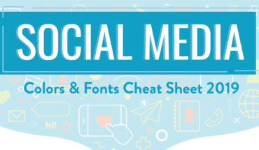 Colors and Fonts Used in Best-Loved Social Media Apps: Ultimate Cheat Sheet - Infographic