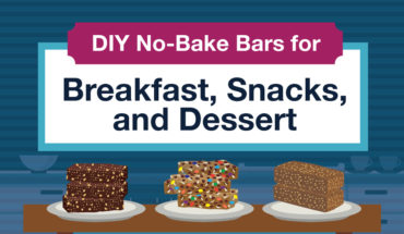 Easy-to-Make No-Bake Loaded-with-Deliciousness Energy Bars - Infographic