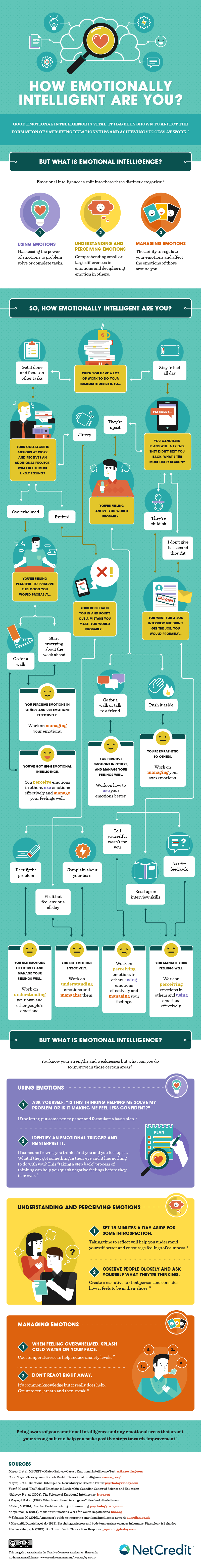 Emotional Intelligence and You - Infographic