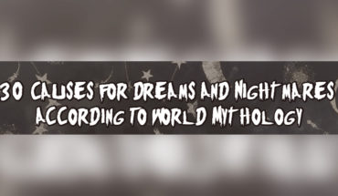 Explaining Dreams and Nightmares: 30 Mythological Stories - Infographic