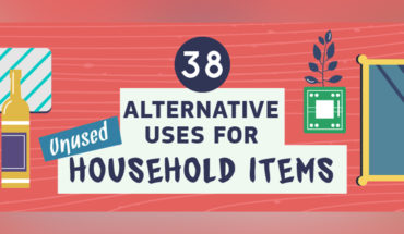 How to Reuse Unused Household Items Instead of Putting Them Away in Boxes - Infographic