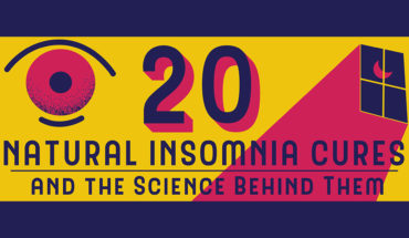 No More Sleepless Nights: 20 Natural Insomnia Cures - Infographic