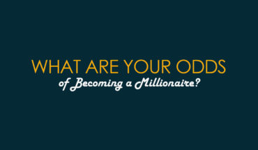 The Odds of Joining the Millionaire Club - Infographic