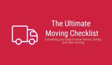 The Ultimate Moving-Home Step-By-Step Guide - Infographic