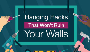 Beautify Your Walls, Don't Ruin Them: Helpful Hanging Hacks - Infographic