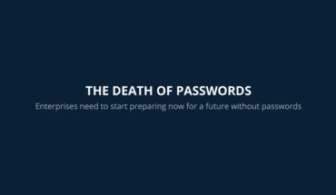 Beyond Passwords: The Next Stage - Infographic