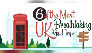 How to Discover the Best of UK's Breathtaking Beauty: 6 Amazing Road Trips - Infographic