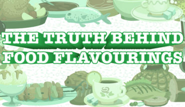 The Not-So-Tasty Origins of Delicious Food Flavorings - Infographic