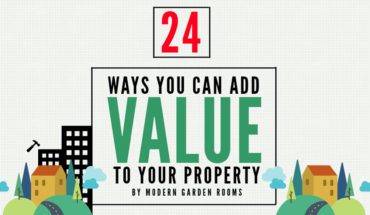 24 Ways to Enhance Your Home and Build Its Market Value - Infographic
