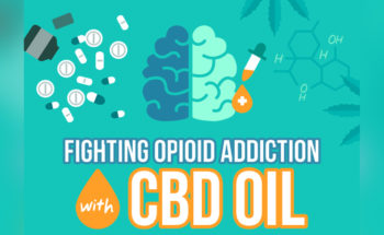 Did You Know that Cannabidiol (CBD Oil) Helps Fight Opioid Addiction? - Infographic
