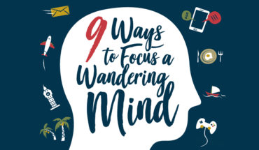 The Case of the Wandering Mind and How to Solve It - Infographic