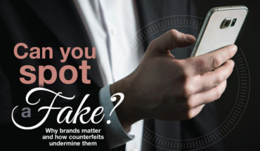 The Cost Of Counterfeits - Infographic