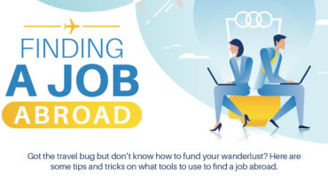 Want to Build Your Career Abroad? Here's How! - Infographic