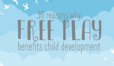 Why Free Play is Critical for Child Development - Infographic