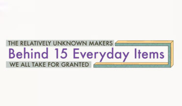 Amazing Inventions We Take for Granted: Unknown Inventors of Everyday Utility Items - Infographic