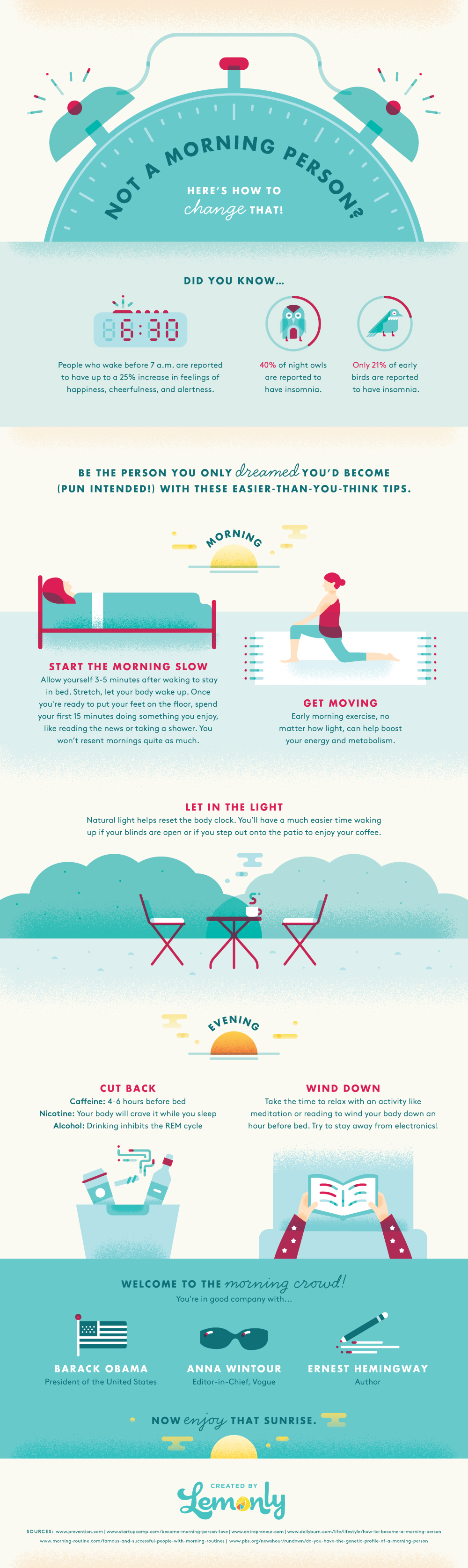 It's a Morning Person's World: Here's Why - Infographic