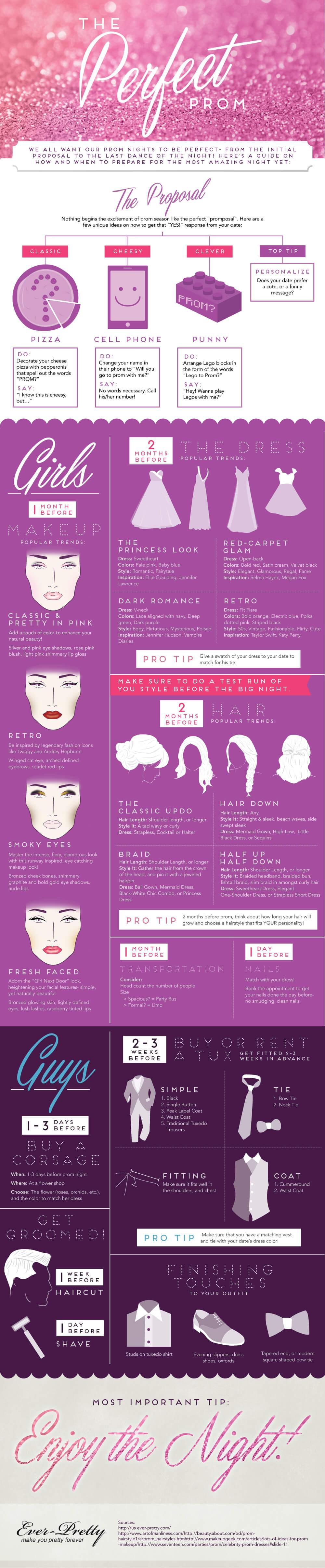 Make Yours the Perfect Prom - Infographic