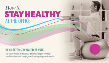 Super-Easy Methods to Stay Healthy at the Office - Infographic