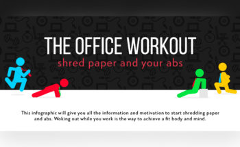 Why Office Fitness Workouts Are Important for Positive Health - Infographic