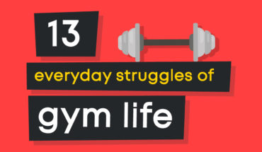 13 Gym Struggles that Everyone Faces and How Not to Give Up - Infographic