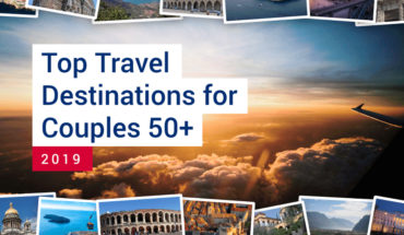 50+ and Raring to Go: Four Top Travel Destinations - Infographic