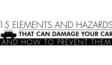 Beat the Elements: How to Prevent Damage to Your Car by 15 Elements and Hazards - Infographic
