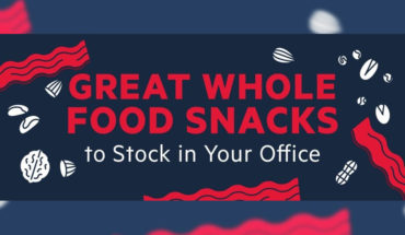 How to Feed Your Brain: Healthy Snacks to Stock at Office - Infographic