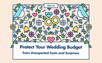 How to Plan Your Wedding and Not Be Landed with Unexpected Costs! - Infographic