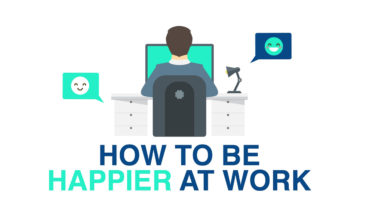 How to Re-Ignite a Happy Feeling at Work - Infographic