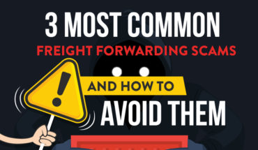 3 Most Common Freight Forwarding Scams and How to Avoid Them - Infographic