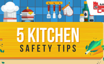 5 Kitchen Safety Tips – Infographic