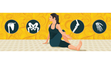 How to Fight Back Chronic Joint Pain with Yoga - Infographic