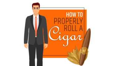 The Art and Joy of Rolling the Perfect Cigar - Infographic