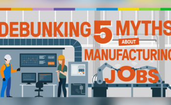 The Next Manufacturing Renaissance: Breaking 5 Myths About Manufacturing Jobs - Infographic
