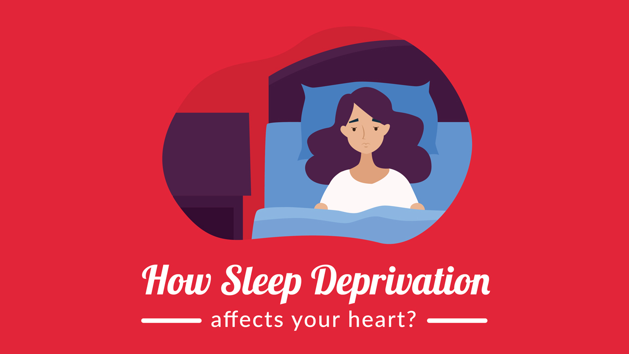 The Unhealthy Connection Between Sleep Deprivation and Heart Disease – Infographic